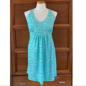 Tehama Green RacerBack Summer Dress